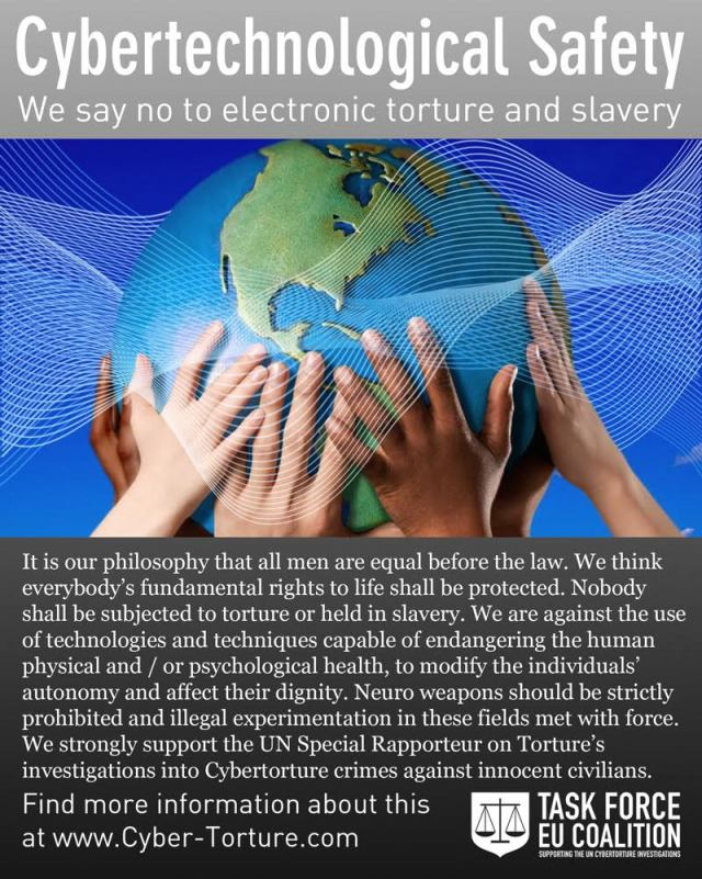 Activities are being organized around the world — by millions of victims of Electronic Torture  Coalition